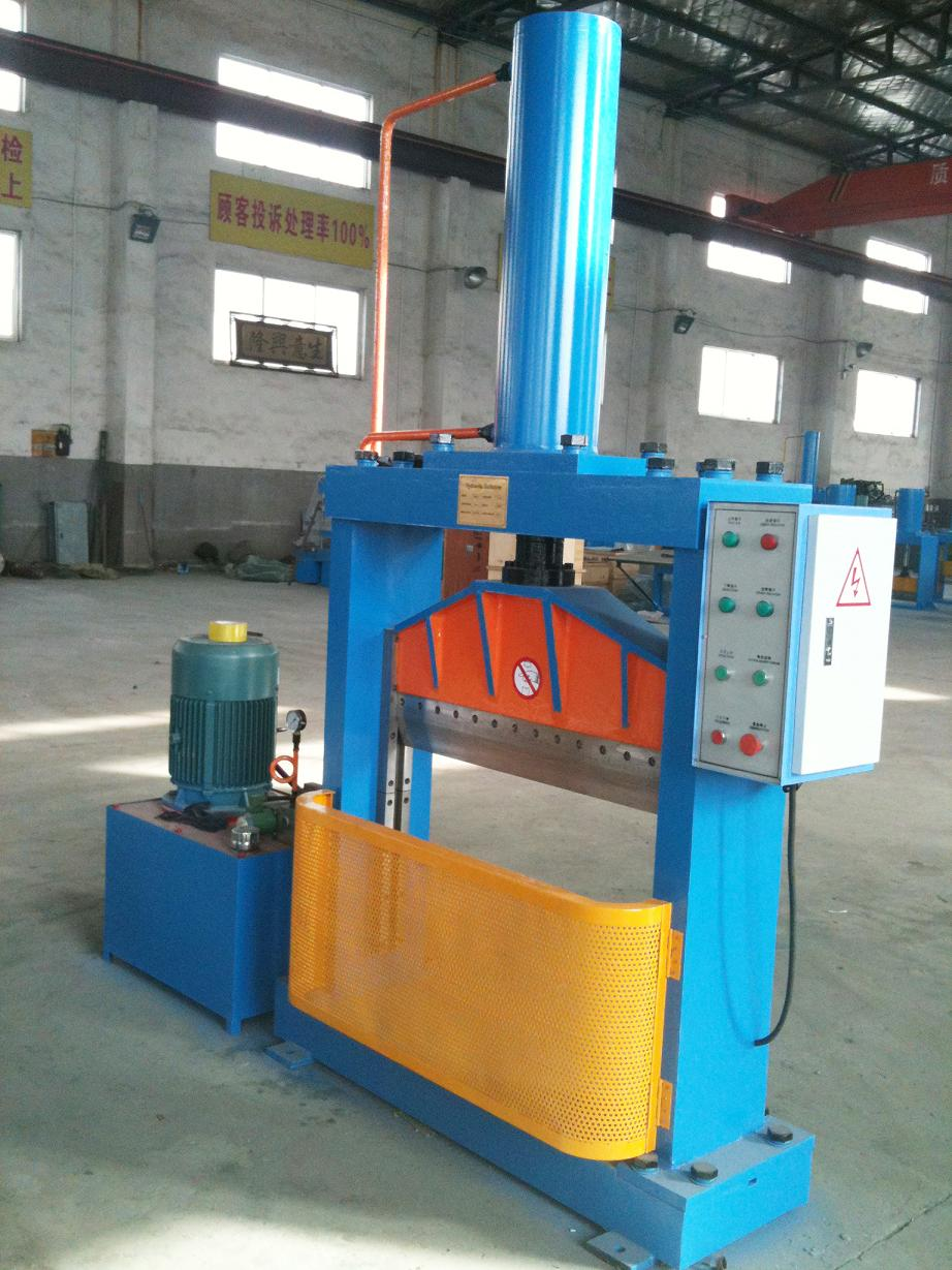 Vertical Rubber Cutting Machine