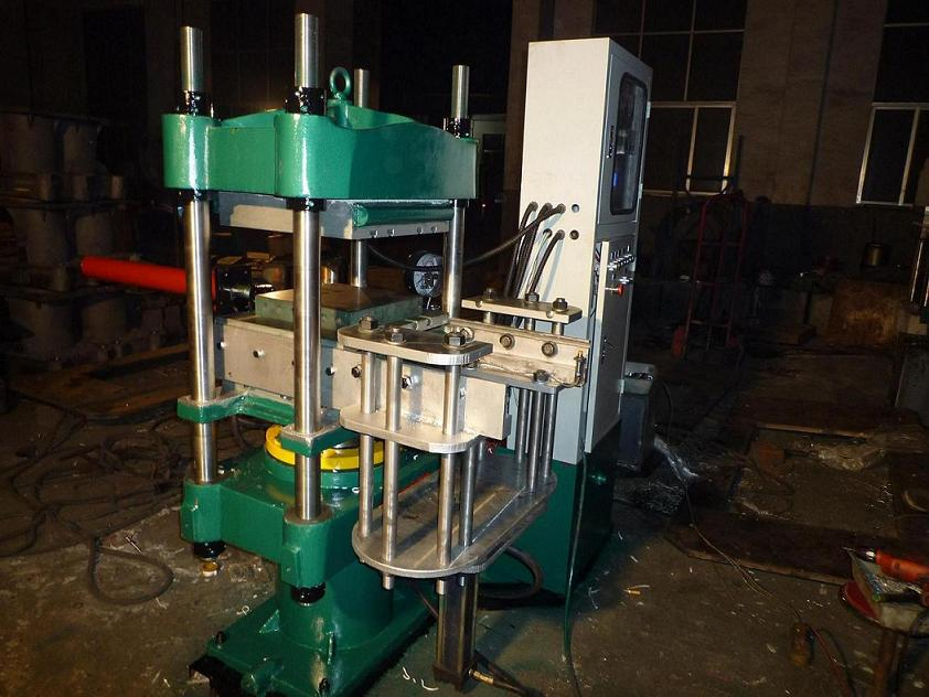 0.80MN PLC Rubber Hydraulic Press