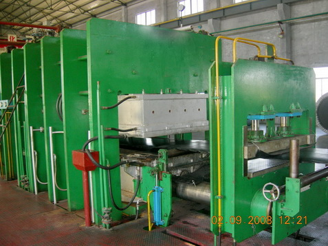 Rubber Waterproofing Membrane Moulding Press Machine