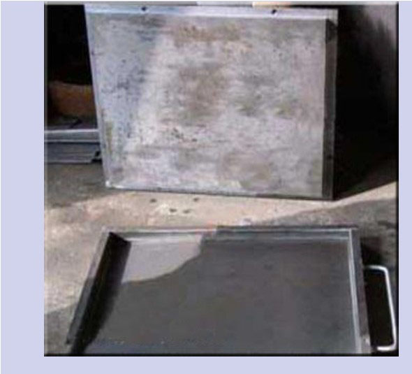 500×500-02 Square Rubber Tile Molds