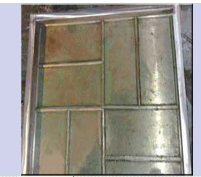 406×406-01 Rubber Tile Mold