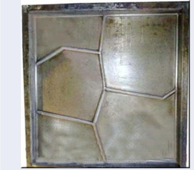 406×406-02 Rubber Tile Mold