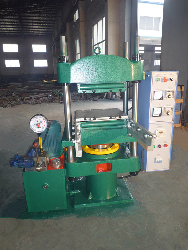80T Rubber Molding Press Machine(with mold slide out system)