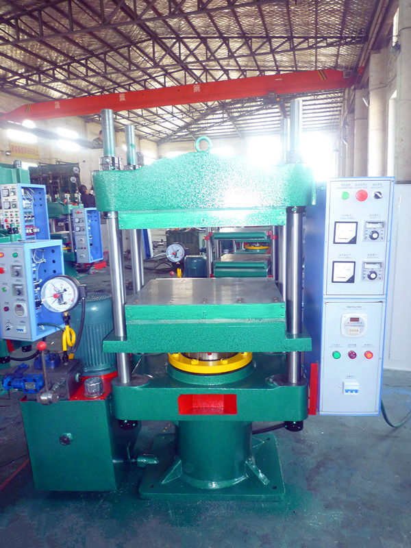 80T Rubber Molding Press With Widen Plates