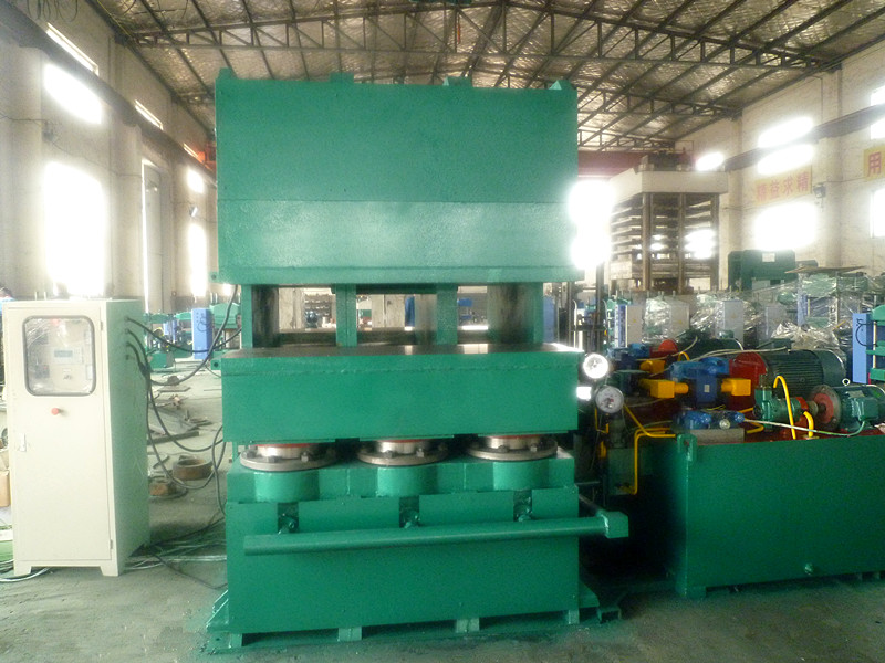 Double E-Jaw Rubber Moulding Press