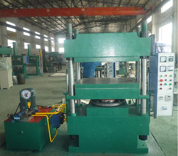 160T Rubber Press Machine with force open mould device