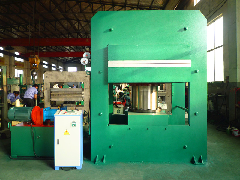 Oil Heating Rubber Molding Press