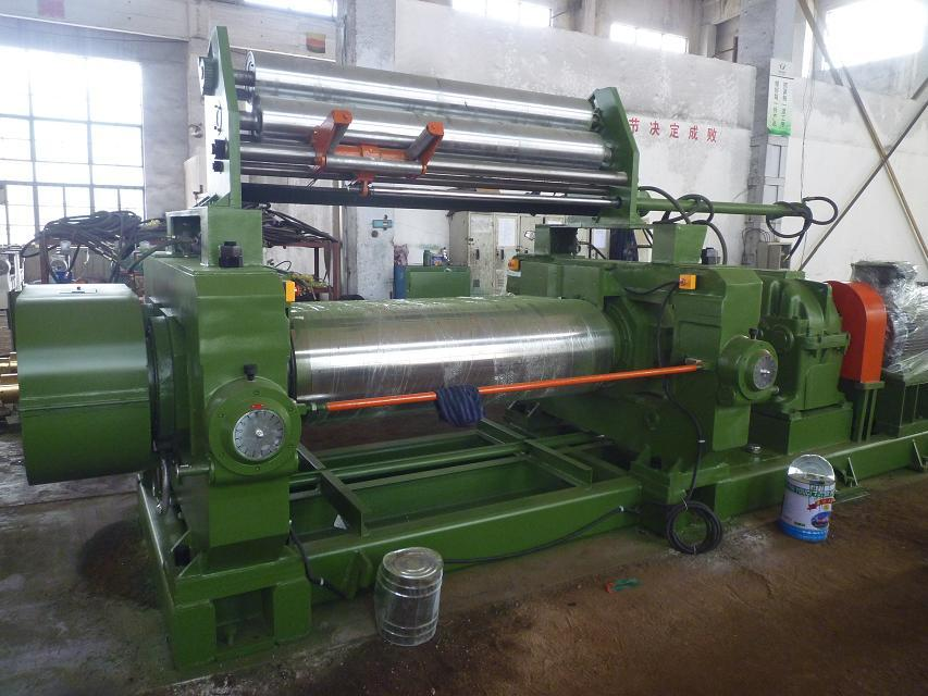 Rubber Plastic Mill Machine With Mill Blender