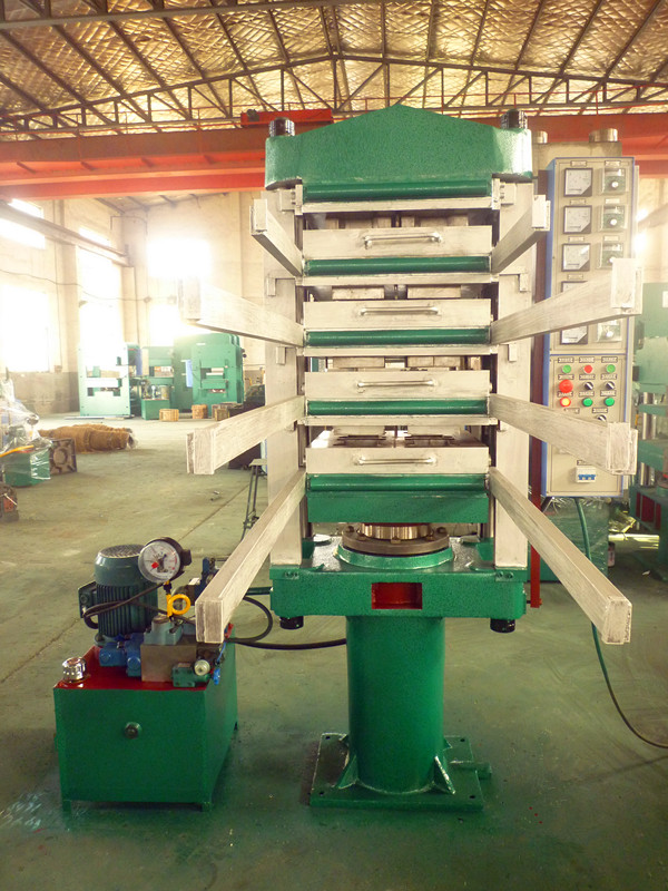 80T Rubber Tiles Molding Press
