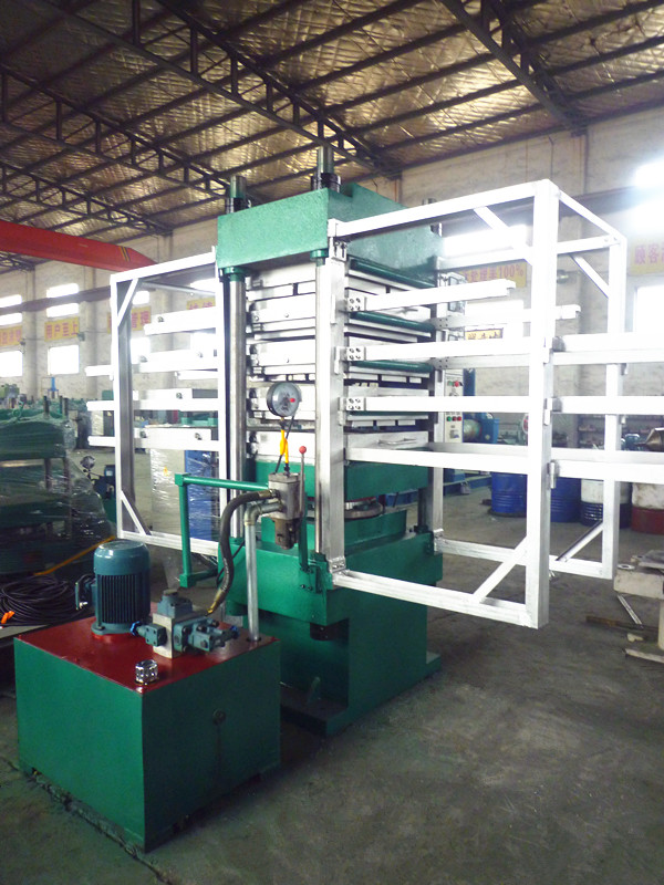 120T Rubber Tiles Molding Press Machine