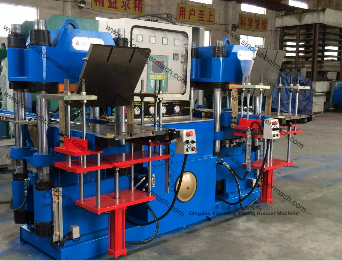200T Rubber Molding Press Machine with 2RT