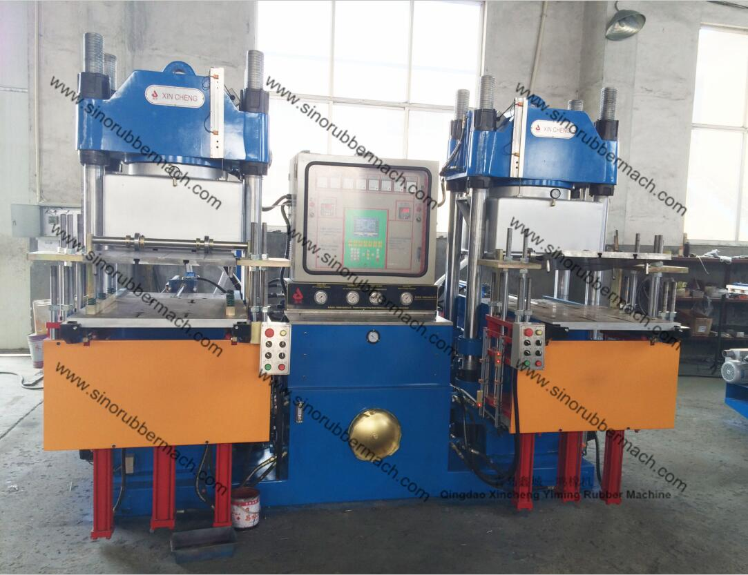 3RT Vacuum Rubber Compression Molding Machine