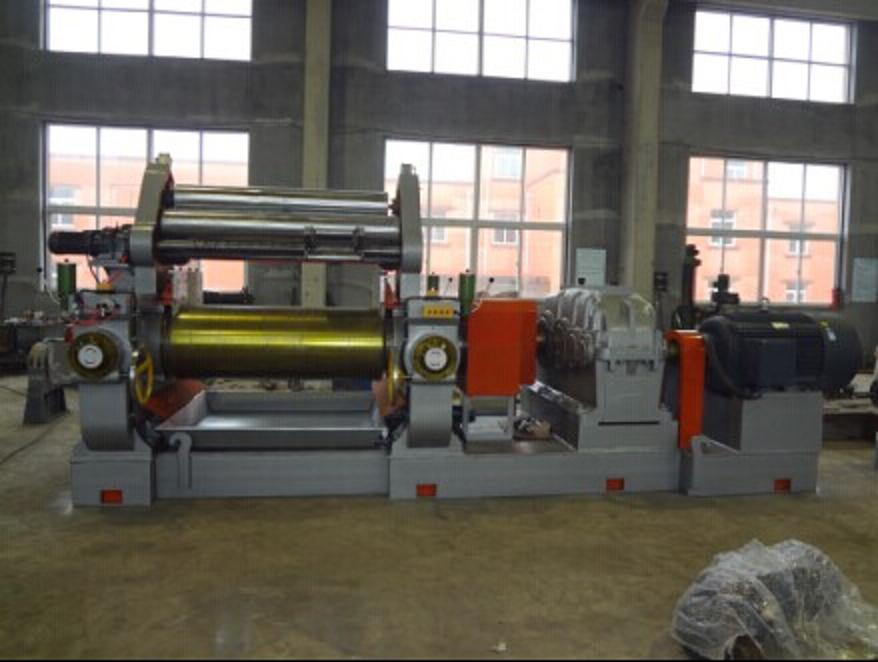 Two-Roll Mixing Mill Machine with Blender