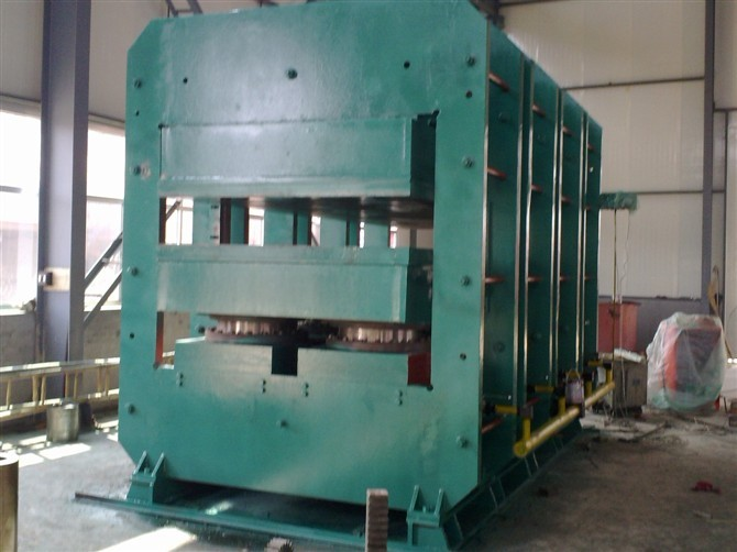 Rubber Molding Press Machine with 8 cylinders