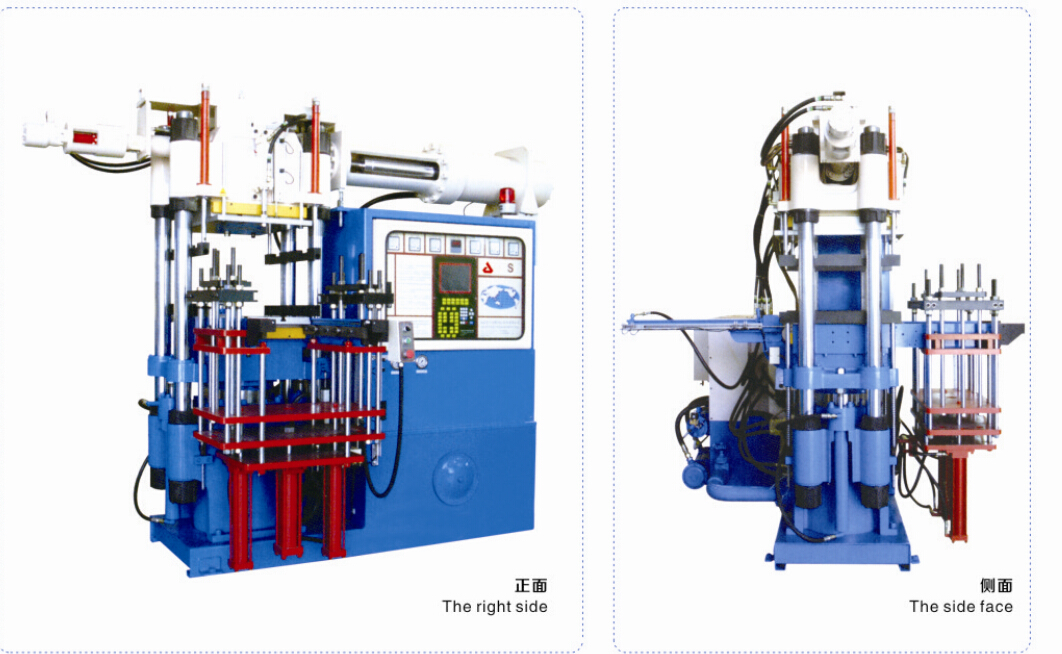 3RT Front Top Mold Open Rrubber Injection Molding Press Machine
