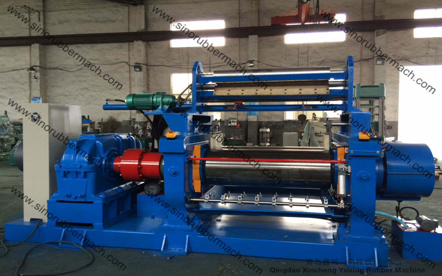 Rubber Mixing Mill Xk 450 Two Roll Mixing Mill With