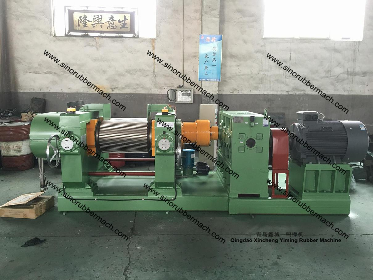 XKP-450 Double Groove Rollers Rubber Crusher Mill