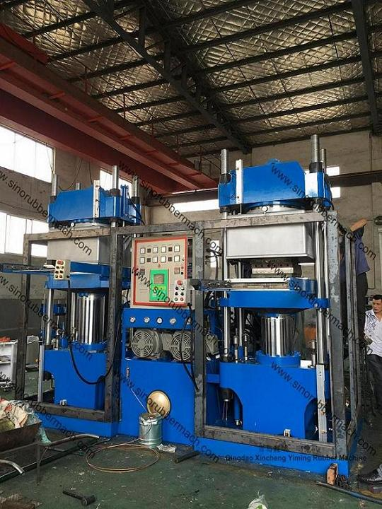 Vacuum Compression Molding Machine For EVA Crash Barrels