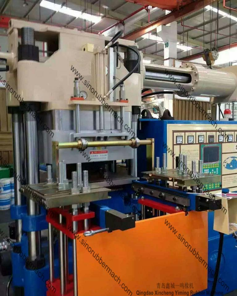 Vacuum Rubber Injection Molding Press Machine