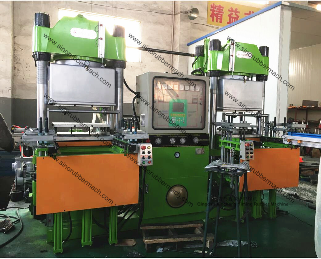 400T Vacuum Rubber Compression Molding Machine