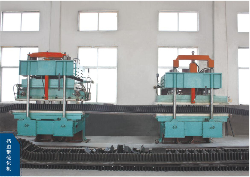 Sidewall Hydraulic Rubber Press