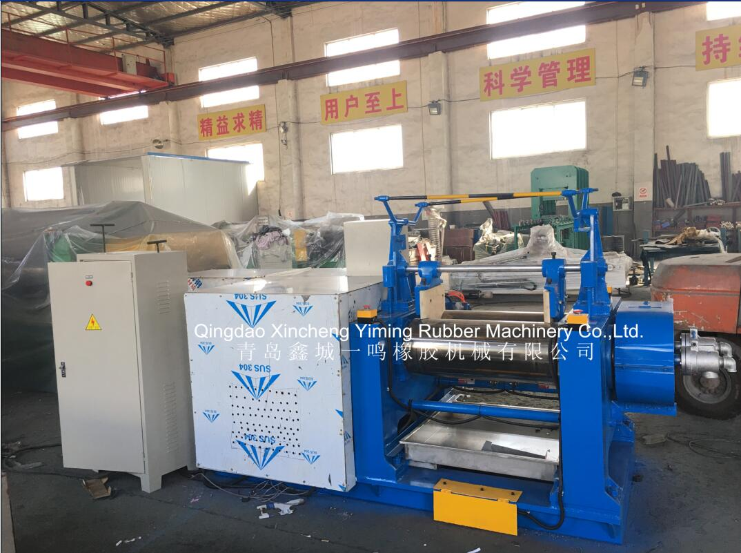 10-Inch Two Roll Rubber Mixing Mill